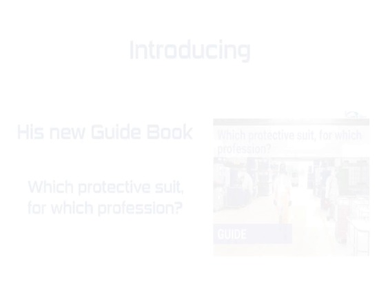 Guide : Which protective suit, for which profession?