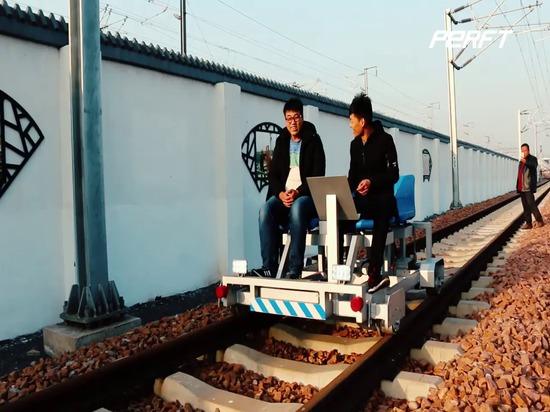 Structure of Customized Rail Joint Gap Inspection