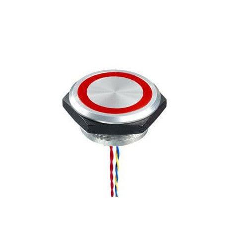 圧電性スイッチ 単極 ac dc pba 30 mm series mec