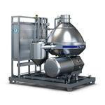 遠心分離分離装置 / ミルク / 食品産業用 / 縦型