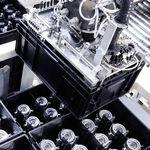 移送用梱包材調整固定マシン / ハンドリング