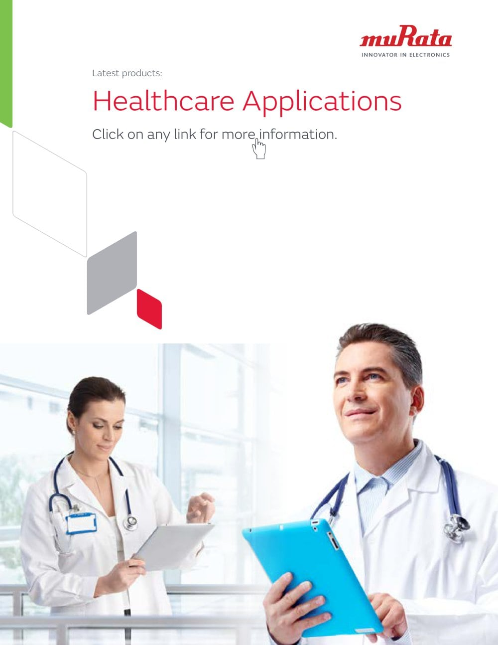 Healthcare Brochure Murata Power Solutions PDF Catalogue – Healthcare Brochure