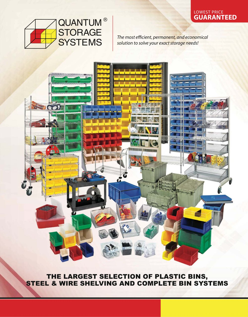 THE LARGEST SELECTION OF PLASTIC BINS, STEEL & WIRE SHELVING AND ...