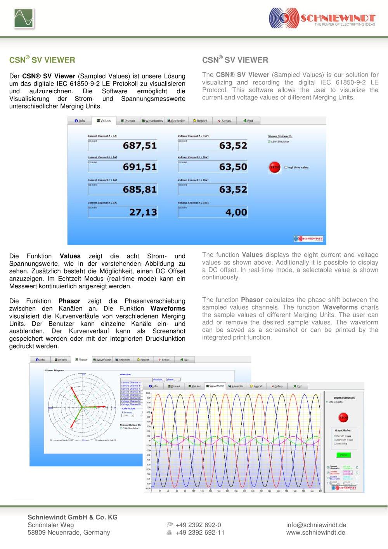 CSN® SV-Viewer - Schniewindt GmbH & Co. KG - PDF Catalogue ...