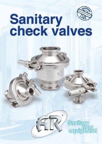 Sanitary Spring Check Valves