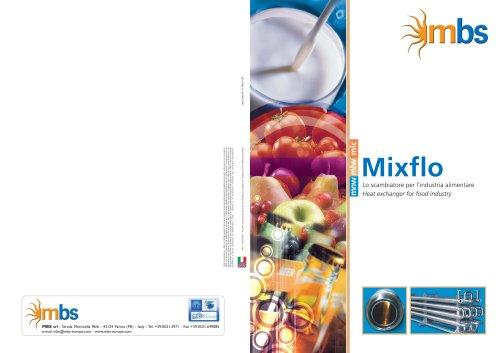 heat exchanger for food industry