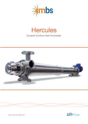 Hercules Scraped Surface Heat Exchanger