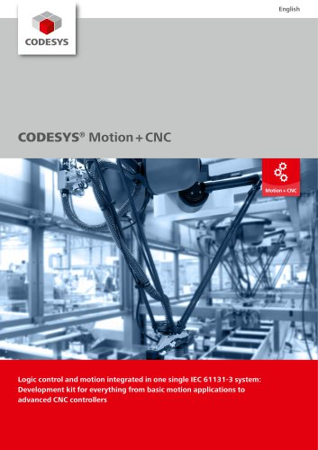CODESYS® Motion + CNC - 3S - Smart Software Solutions - PDF