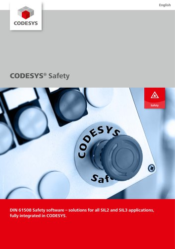 CODESYS® Safety - 3S - Smart Software Solutions - PDF Catalogs