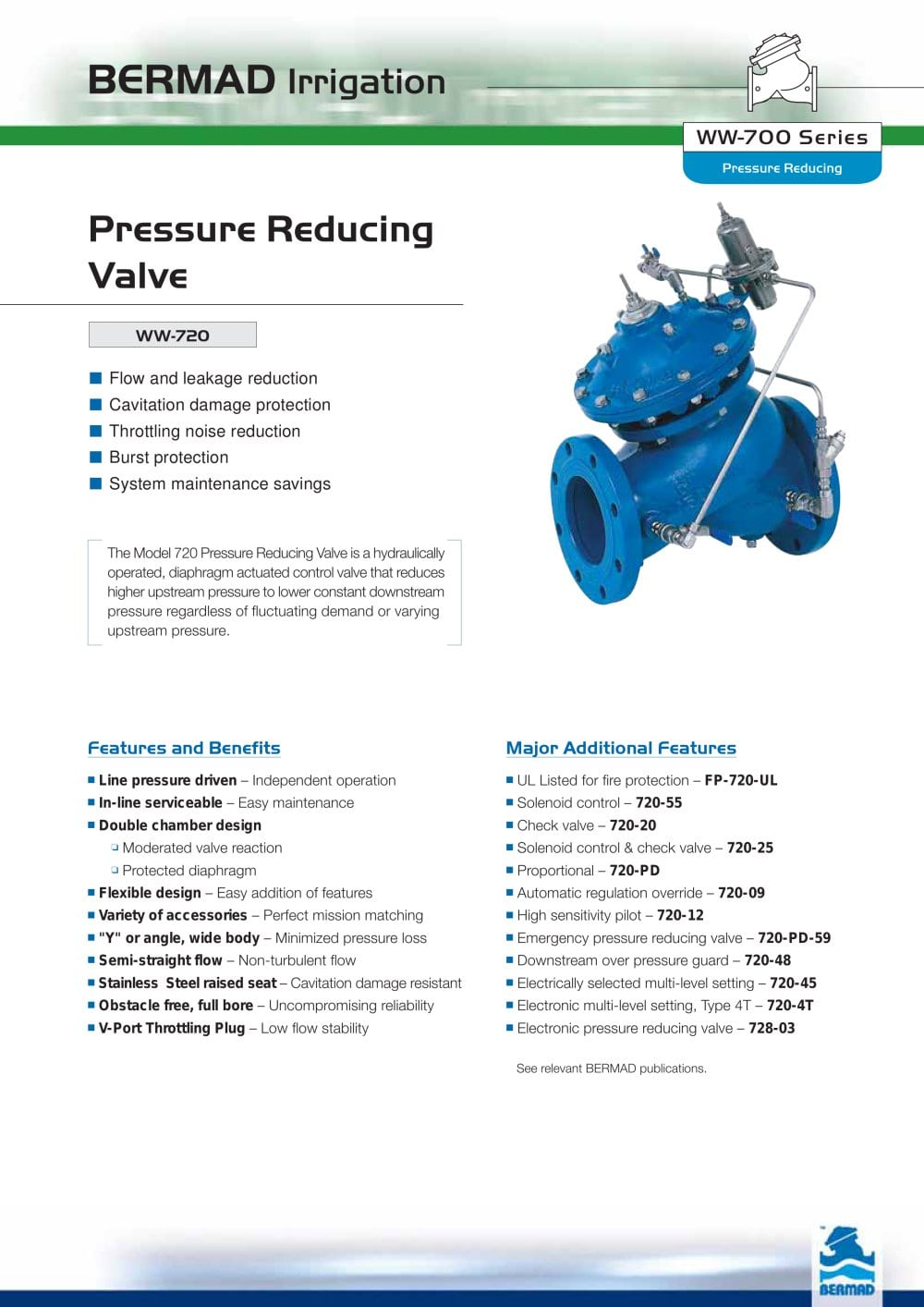 Ww 720 bermad pdf catalogue technical documentation brochure ww 720 1 4 pages nvjuhfo Choice Image