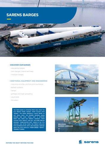 SARENS BARGES - Sarens Group - PDF Catalogs | Technical