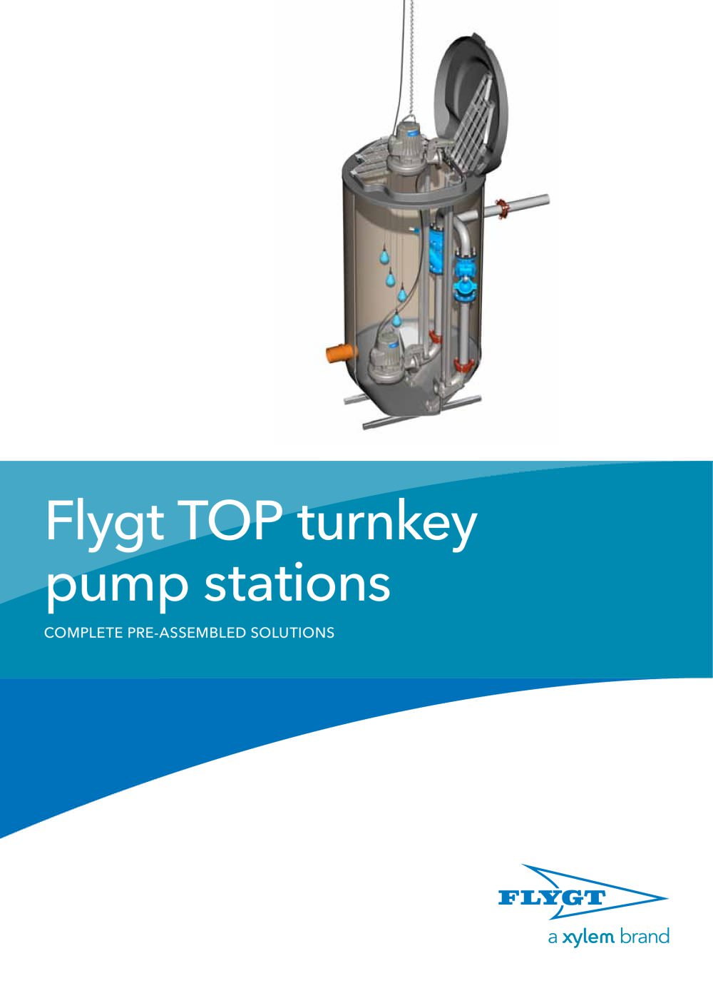 Flygt TOP turnkey pump station - 1 / 8 Pages