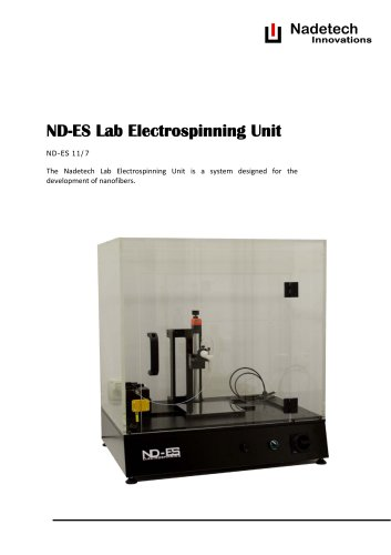 ND-ES Lab Electrospinning Unit
