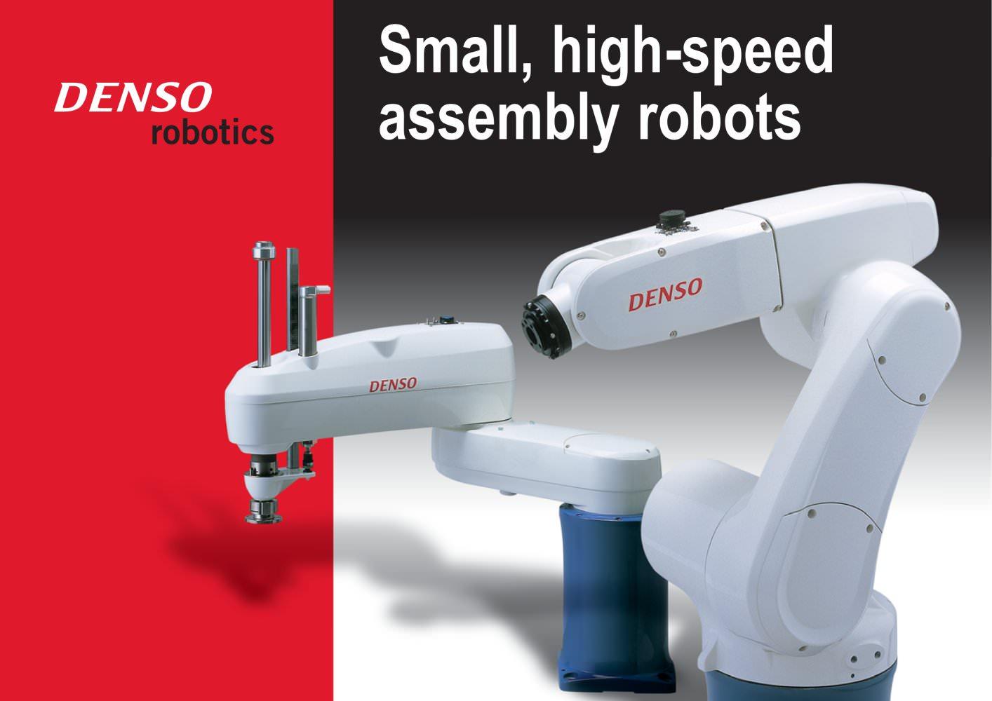 Usa Robotics Catalogue Denso Robotics Europe Pdf Catalogs