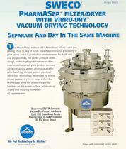 PH22 PharmASep Filter Dryer