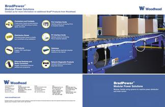 BradPower Modular Power Solutions (modular, flexible wiring systems for machine power distribution and motor control)