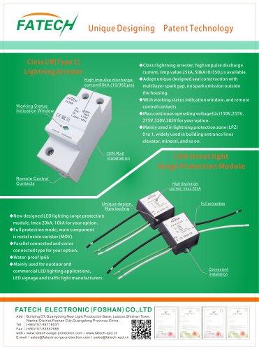 Fatech LED street light surge protection module