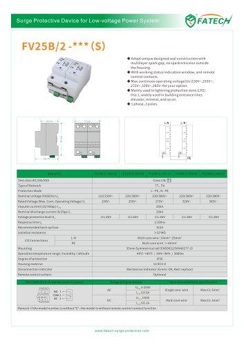 FATECH surge arrester FV25B/2-385 for Iimp25ka AC power system