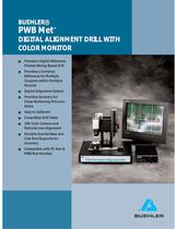 PWB Met� DIGITAL ALIGNMENT DRILL WITH COLOR MONITOR