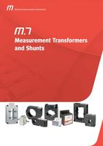 MEASUREMENT TRANSFORMERS AND SHUNTS