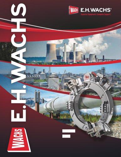 E.H. WACHS INDUSTRIAL MACHINE TOOLS CATALOG