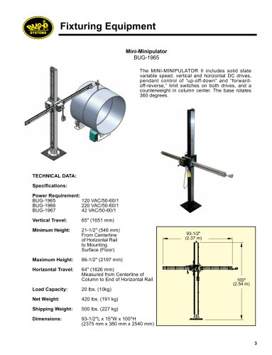 Fixtures & Positioning Equipment