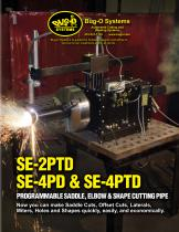 SE-4PD, SE-2PTD and SE-4PTD Saddle, Elbow and Shape Cutters