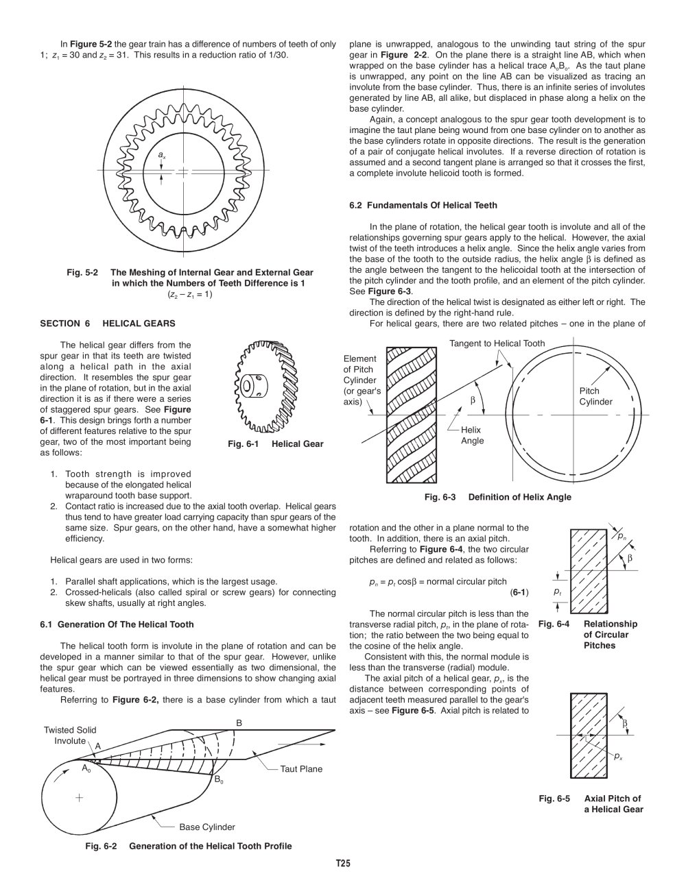 Helical Gear Calculations - More info
