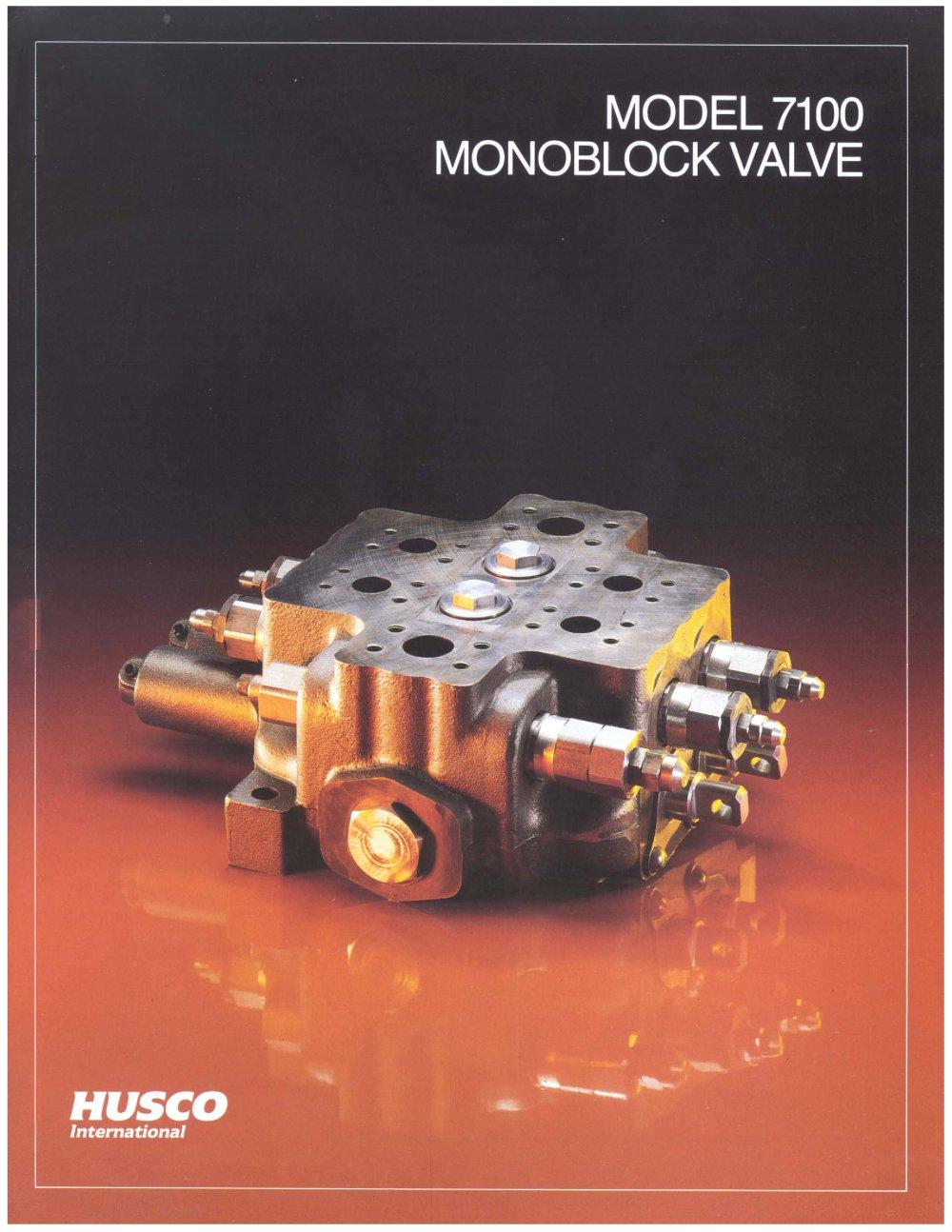 7100-valve - Husco International - PDF Catalogue   Technical ...