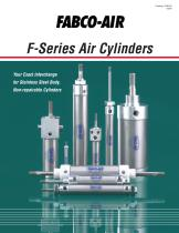 &quot;F&quot; Series Cylinder Catalog