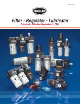 Filter ~ Regulator ~ Lubricator