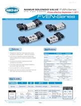 FVEN NAMUR Series Control Valves