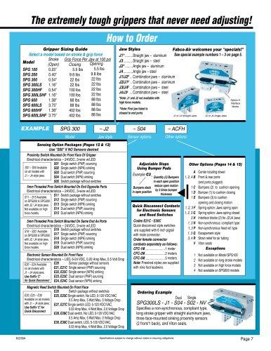 Gripper Catalog