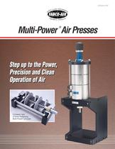 Multi-Power Air Press Catalog