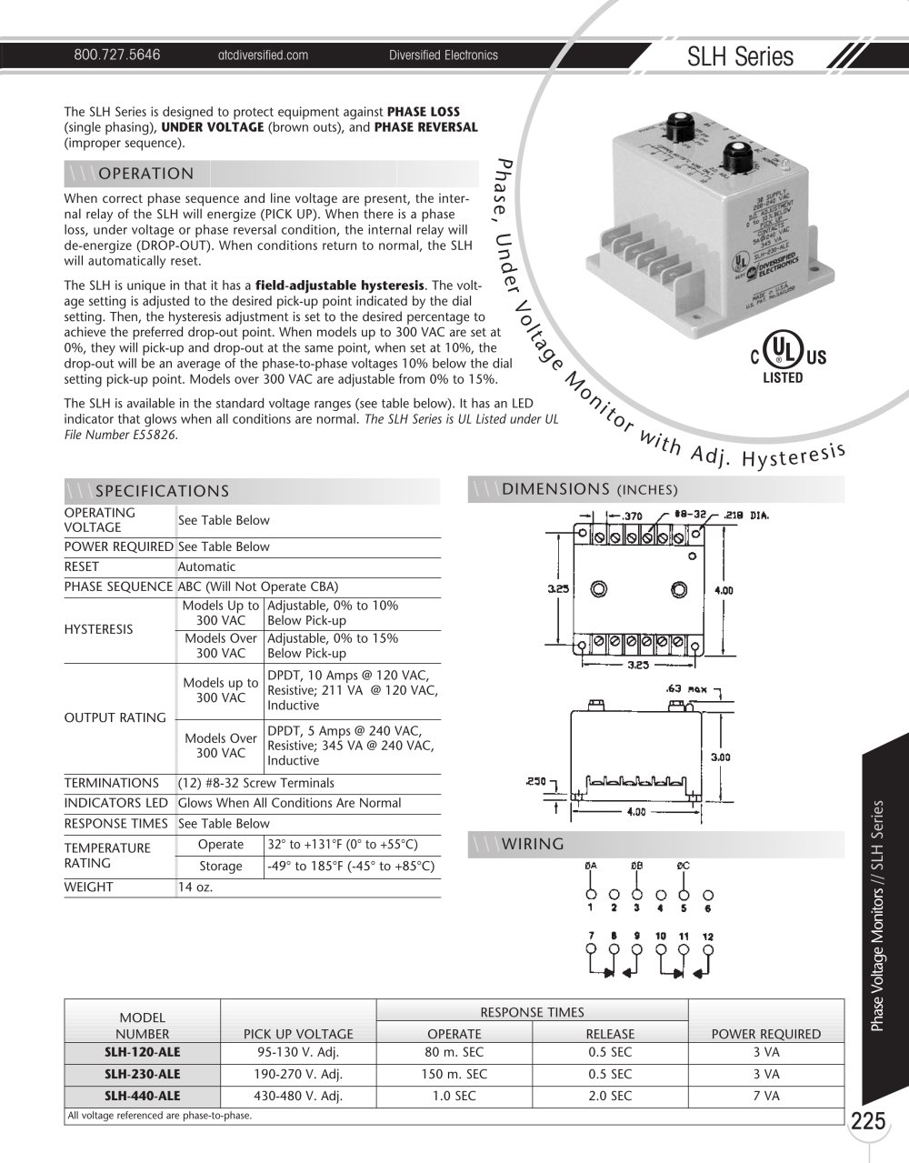 Catalogue - Marsh Bellofram Diversified Electronics Division SLH ...