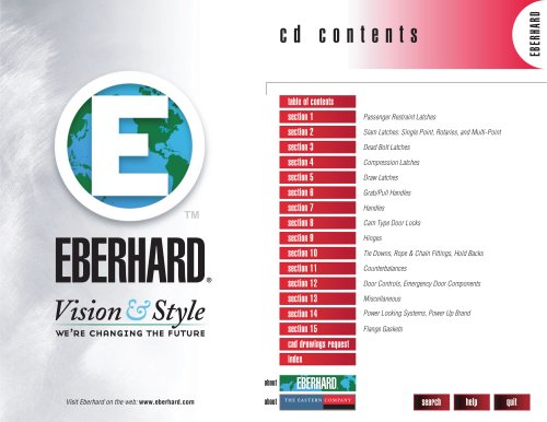Eberhard Hardware Catalogue