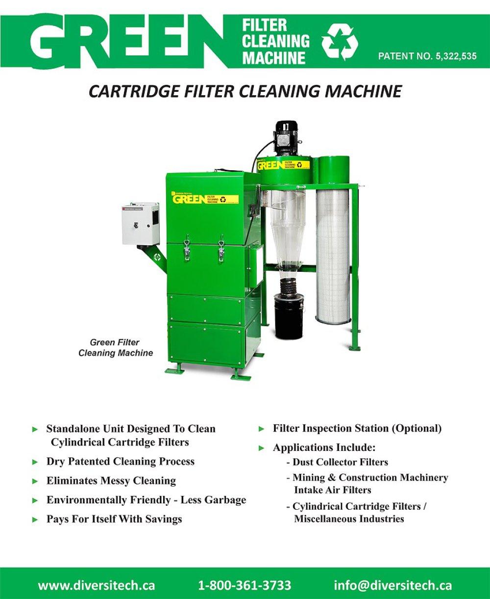 filter cleaning machine brochure diversitech pdf catalogue filter cleaning machine brochure 1 2 pages