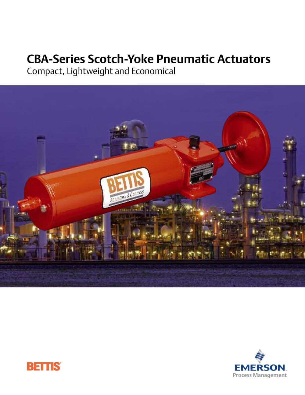 cba series pneumatic actuators 86954_1b cba series pneumatic actuators bettis pdf catalogue Gh Bettis Valve Actuators at aneh.co