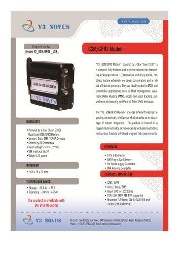 GSM/GPRS MODEM (RS232)