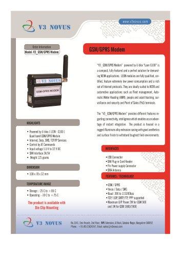 V3 GSM/GPRS MODEM USB