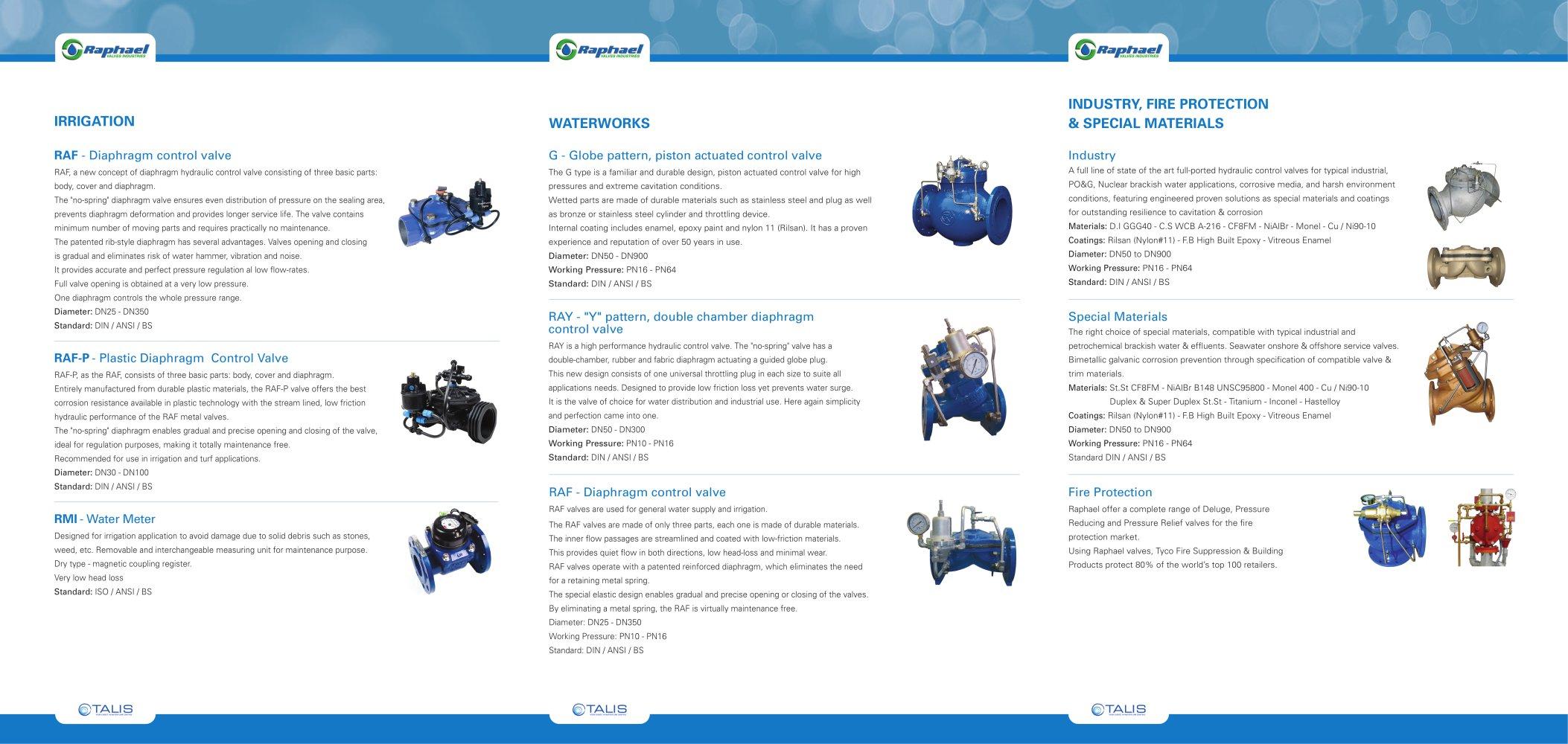 General products raphael valves raphael valves industries pdf general products raphael valves 1 2 pages ccuart Choice Image
