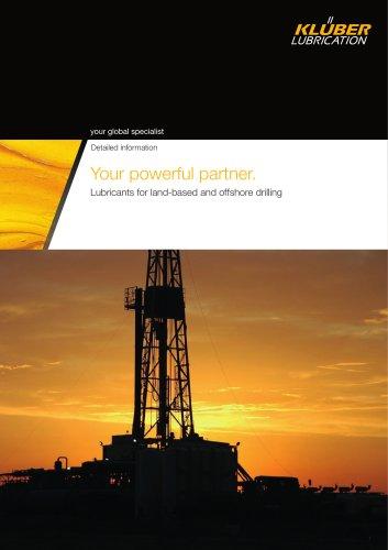 Offshore industry – Your powerful partner - Klüber