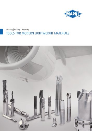 Tools for modern lightweight materials - MAPAL - PDF Catalogs