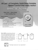 Plug-in, AC Motor Fan Controls Dial-a-Temp