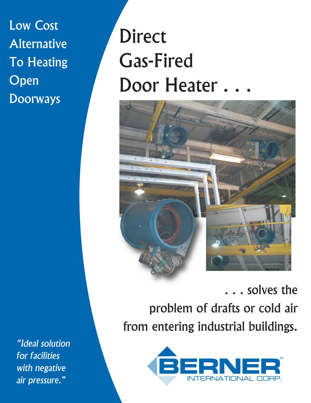 Door Heaters - 1 / 4 Pages  sc 1 st  Catalogues Directindustry & Door Heaters - Berner International - PDF Catalogue | Technical ...