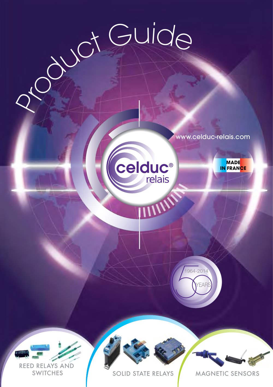 Selection Guide celduc relais PDF Catalogue Technical