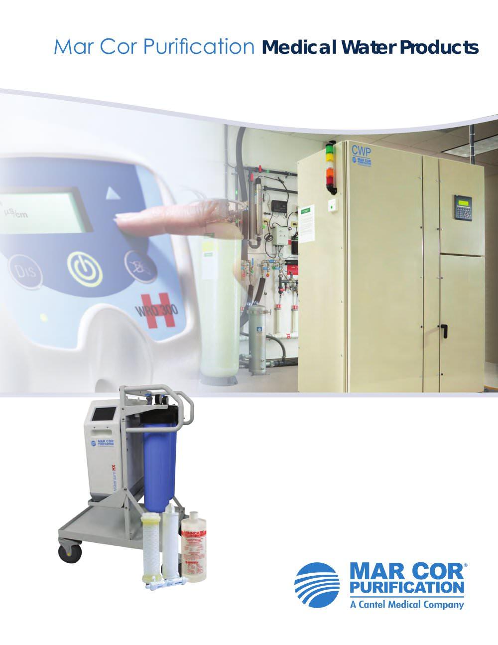 Medical Products Brochure Mar Cor Purification Pdf Catalogs