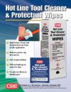 Hot Line Tool Cleaner &  Protectant Wipes
