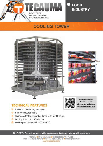 A001 Cooling tower