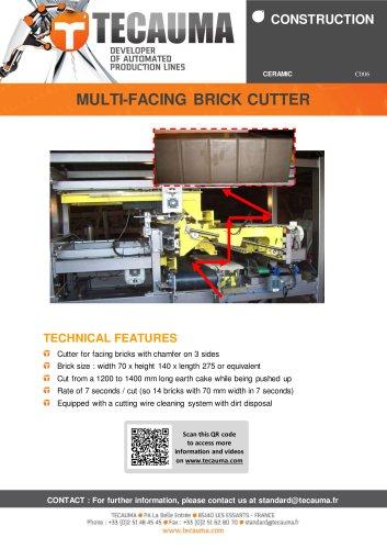C006 Cladding brick cutter